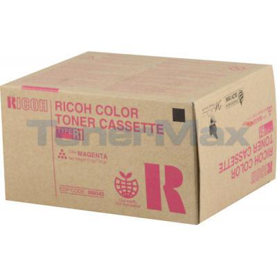 RICOH AFICIO 3228C 3245C TYPE R1 TONER CASSETTE MAGENTA